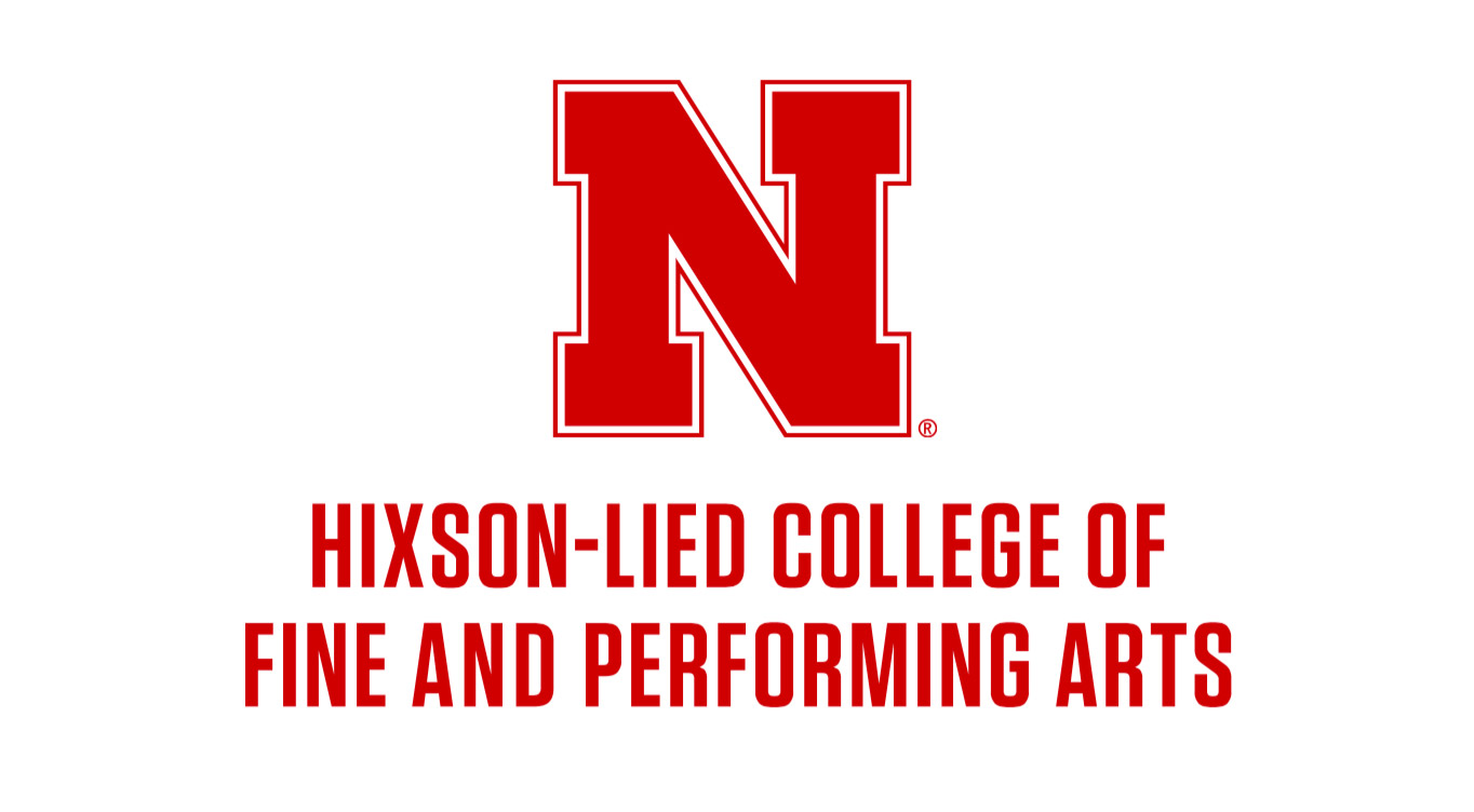 Centered lockup - Hixson-Lied College of Fine and Performing Arts