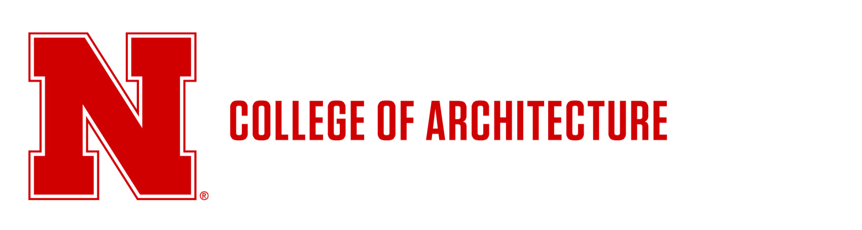 Horizontal lockup - College of Architecture