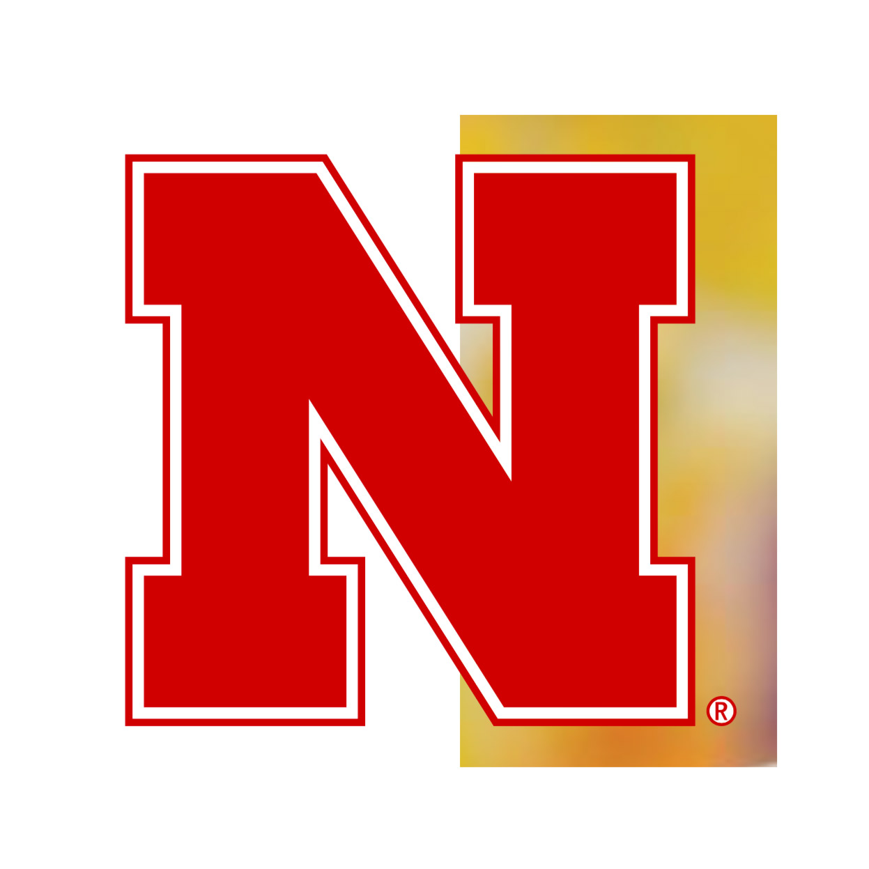 Nebraska N campus icon hex for web