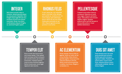 accent colors infographic example