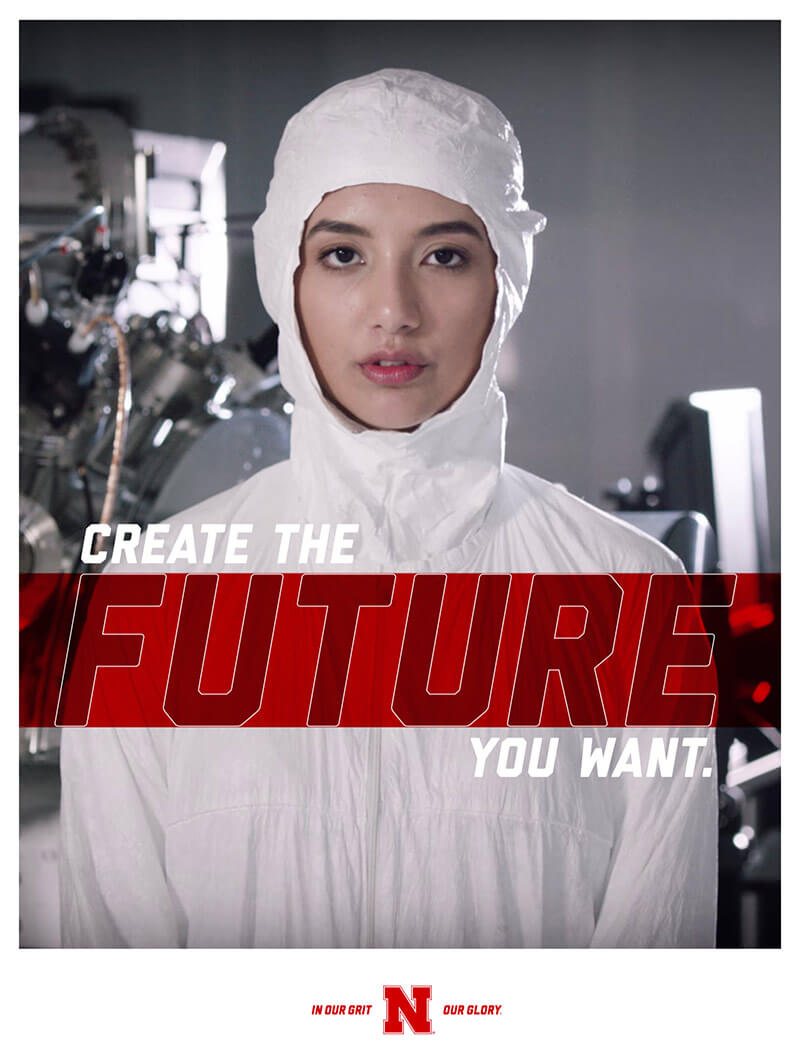 Create the Future design screenshot