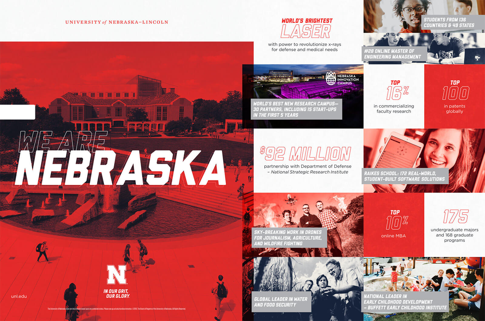 We Are Nebraska brochure gallery screenshot