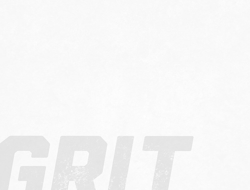 White Grit text on textured background