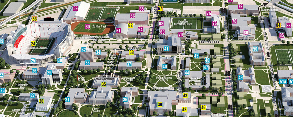 City Campus 3D map