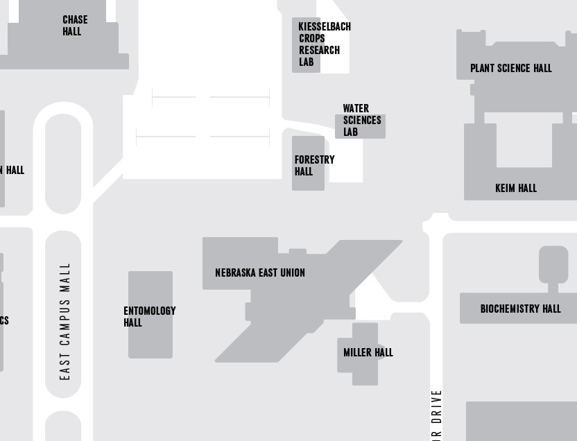 East Campus 2D map