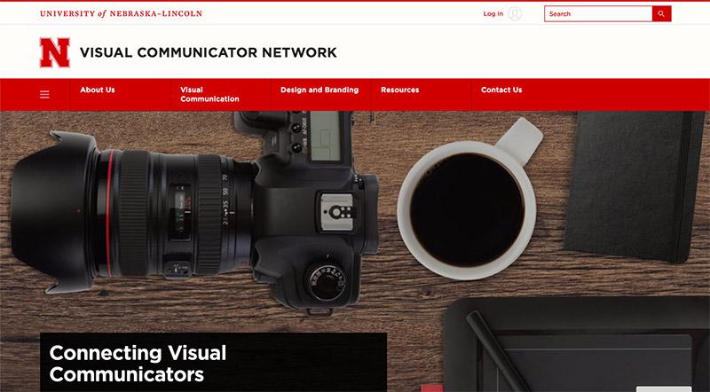 VCN website screen capture
