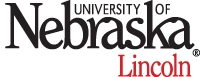 unl wordmark, red Lincoln