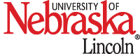 unl wordmark, black Lincoln