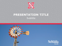 UNL Design Toolbox Powerpoint Template 2 front