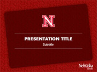 UNL Design Toolbox Powerpoint Template 3 front