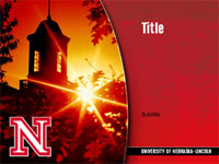 UNL Design Toolbox Powerpoint Template 4 front